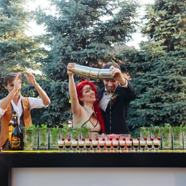 Бармен шоу. Свадьба за городом Киев